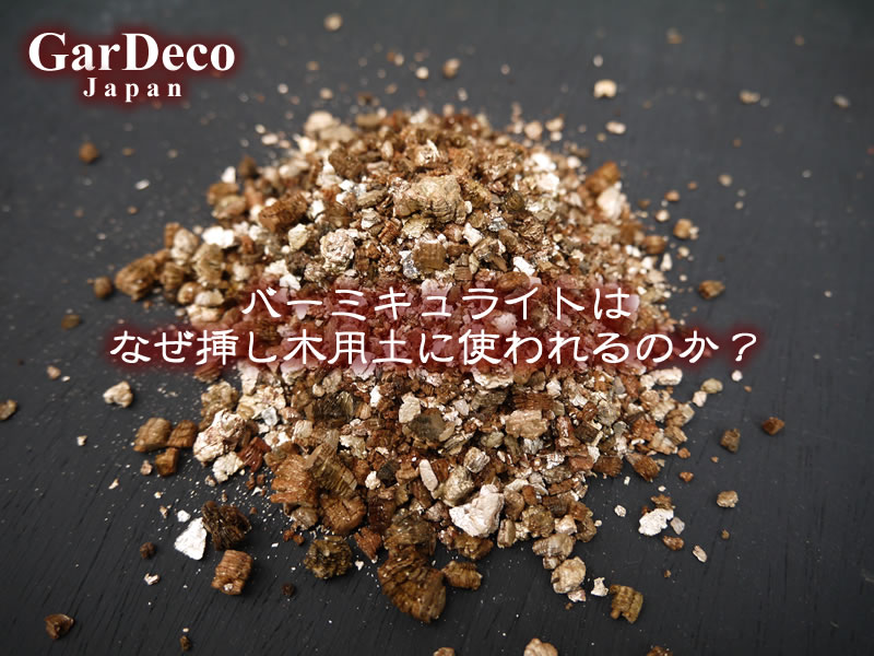 バーミキュライトはなぜ挿し木用土に使われるのか?